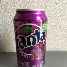 Coleccionismo de Coca-Cola y Pepsi: LATA FANTA UVAS DE USA SIN ABRIR. Lote 143246970