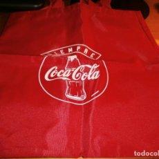 Coleccionismo de Coca-Cola y Pepsi: BOLSA DE PLÁSTICO CON ASAS COCA-COLA - AÑOS 80 - NUEVA !!!. Lote 143367342