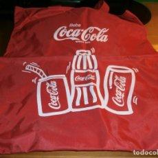 Coleccionismo de Coca-Cola y Pepsi: BOLSA DE PLÁSTICO CON ASAS COCA-COLA - AÑOS 80 - NUEVA !!!. Lote 143367866