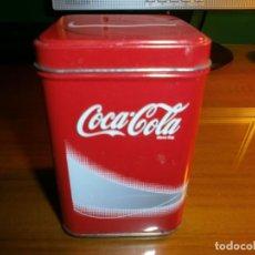 Coleccionismo de Coca-Cola y Pepsi: CAJA METÁLICA DE COCA COLA.. Lote 143382366