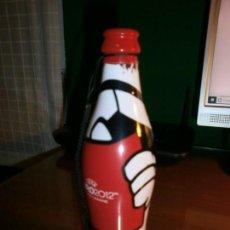 Coleccionismo de Coca-Cola y Pepsi: BOTELLA TROMPETA COCA COLA UEFA EURO 2012 POLAND - UKRAINE.. Lote 143385494