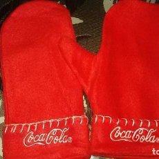 Coleccionismo de Coca-Cola y Pepsi: MANOPLAS Y GUANTES COCA COLA. Lote 143397322