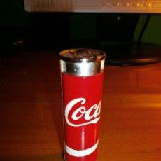 Coleccionismo de Coca-Cola y Pepsi: ENCENDEDOR MECHERO METÁLICO DE COCA COLA - FUNCIONANDO !!!. Lote 143423494