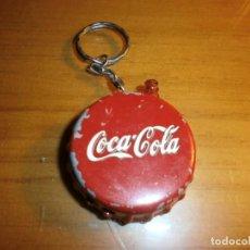 Coleccionismo de Coca-Cola y Pepsi: LLAVERO ENCENDEDOR MECHERO METÁLICO COCA COLA - AÑOS 80.. Lote 143432198