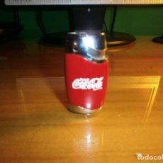Coleccionismo de Coca-Cola y Pepsi: ENCENDEDOR MECHERO METÁLICO COCA COLA - FUNCIONANDO !!!. Lote 143436598