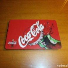 Coleccionismo de Coca-Cola y Pepsi: TARJETA CONVERSOR EUROS PESETAS COCA COLA. Lote 143478474