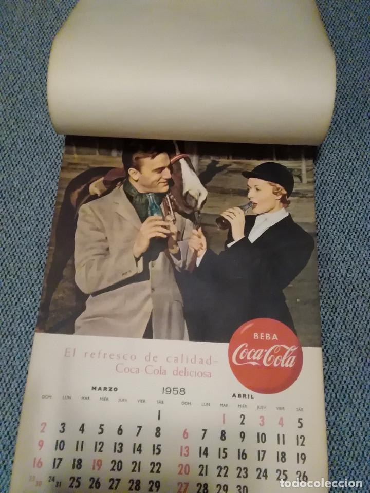 Coleccionismo de Coca-Cola y Pepsi: CocaCola Calendario de pared año 1958, completo, 6 pág. , 54x33 cm. - Foto 2 - 144295190