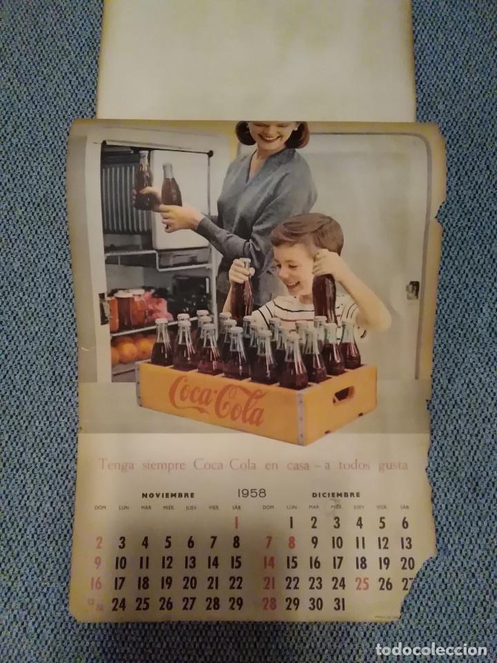 Coleccionismo de Coca-Cola y Pepsi: CocaCola Calendario de pared año 1958, completo, 6 pág. , 54x33 cm. - Foto 6 - 144295190