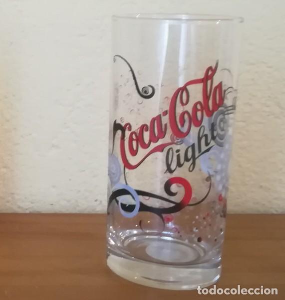 VASO TUBO CRISTAL COCA-COLA LIGHT 37 CL. LUMINARC COKE (Coleccionismo - Botellas y Bebidas - Coca-Cola y Pepsi)