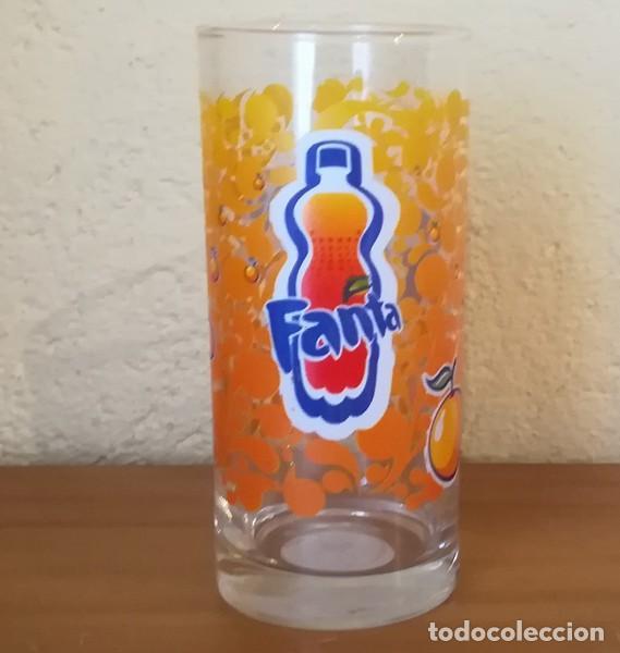 VASO TUBO CRISTAL FANTA NARANJA 37 CL. LUMINARC (Coleccionismo - Botellas y Bebidas - Coca-Cola y Pepsi)