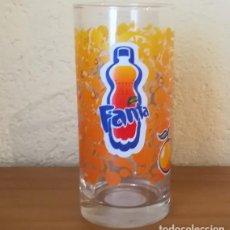 Coleccionismo de Coca-Cola y Pepsi: VASO TUBO CRISTAL FANTA NARANJA 37 CL. LUMINARC. Lote 144883894