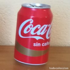 Coleccionismo de Coca-Cola y Pepsi: LATA COCA-COLA SIN CAFEINA. COKE CAN BOTE. Lote 144886782