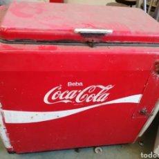 Coleccionismo de Coca-Cola y Pepsi: NEVERA COCA-COLA AÑOS 50. Lote 145416626