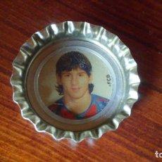 Collezionismo di Coca-Cola e Pepsi: CHAPA TAPON CORONA COCA COLA COCACOLA BEBIDA COKE FCB BARÇA FC BARCELONA JUGADOR MESSI 1996. Lote 145732174