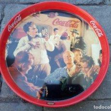 Coleccionismo de Coca-Cola y Pepsi: BANDEJA METÁLICA DE COCA COLA/BURGER KING. Lote 146066102