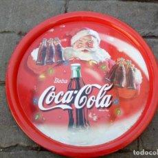 Coleccionismo de Coca-Cola y Pepsi: BANDEJA METÁLICA DE COCA COLA. Lote 146066798