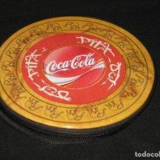 Coleccionismo de Coca-Cola y Pepsi: PORTA CD METALICO COCA COLA. Lote 146288786