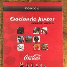 Coleccionismo de Coca-Cola y Pepsi: CATALOGO COCA COLA CRECIENDO JUNTOS 2013. Lote 147020990