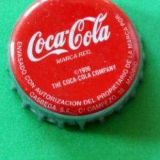 Coleccionismo de Coca-Cola y Pepsi: CHAPA - TAPÓN CORONA - COCA COLA - . Lote 147236210