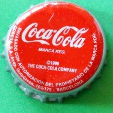 Coleccionismo de Coca-Cola y Pepsi: CHAPA - TAPÓN CORONA - COCA COLA - . Lote 147236270
