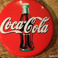 Coleccionismo de Coca-Cola y Pepsi: COCA COLA-CHAPA REDONDA DE METAL. Lote 147772882
