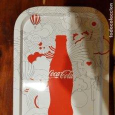 Coleccionismo de Coca-Cola y Pepsi: BANDEJA DE COCACOLA DE CHAPA. Lote 147837734