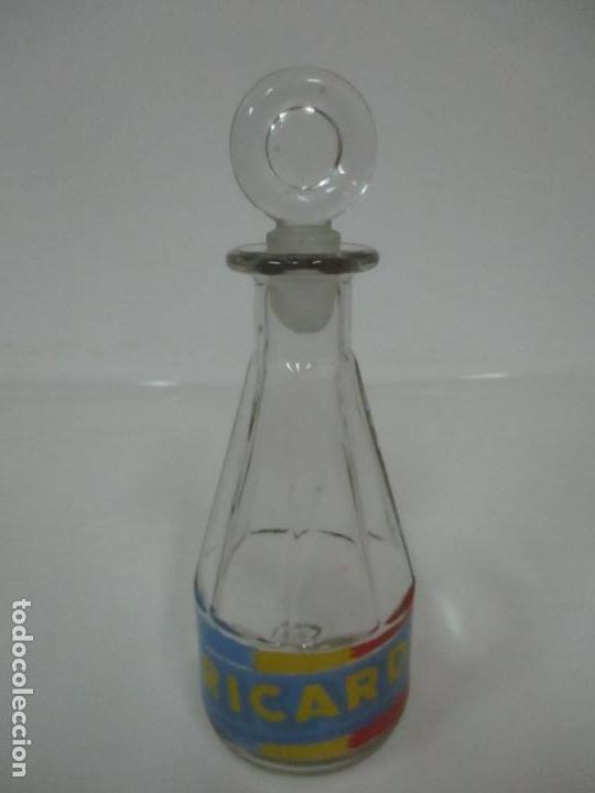Coleccionismo de Coca-Cola y Pepsi: Antigua Botella, Jarra de Cristal Serigrafiada Ricard - para realizar la Mezcla con Agua -con Tapón - Foto 13 - 148063638
