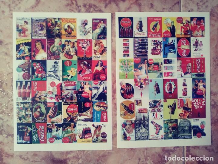 ALBUN Y MAS DE 350 POSTALES DE COCA COLA DIFERENTES (Coleccionismo - Botellas y Bebidas - Coca-Cola y Pepsi)