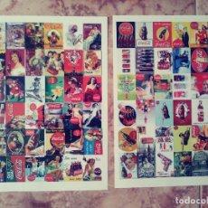 Coleccionismo de Coca-Cola y Pepsi: ALBUN Y MAS DE 350 POSTALES DE COCA COLA DIFERENTES. Lote 148641230