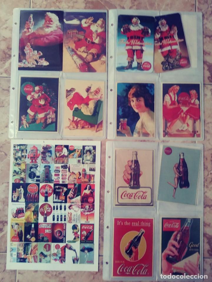 Coleccionismo de Coca-Cola y Pepsi: ALBUN Y MAS DE 350 POSTALES DE COCA COLA DIFERENTES - Foto 2 - 148641230