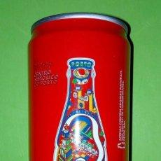 Coleccionismo de Coca-Cola y Pepsi: LATA DA COCA-COLA, CENTRO HISTÓRICO DO PORTO.PORTUGAL. Lote 149253786