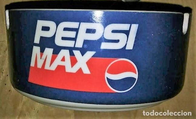 CENICERO PEPSI MAX PLÁSTICO DURO. DIÁMETRO 10,2CM ALTURA 4,8CM (Coleccionismo - Botellas y Bebidas - Coca-Cola y Pepsi)