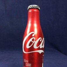 Coleccionismo de Coca-Cola y Pepsi: BOTELLA COCA COLA ENVASE ALUMINIO ROJO ANIVERSARIO 125 AÑOS 250 ML AÑO 2012. Lote 150068790