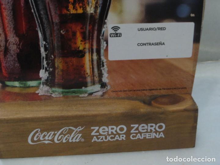 Coleccionismo de Coca-Cola y Pepsi: Expositor Coca Cola zero, zero cafeina - Foto 3 - 150217118