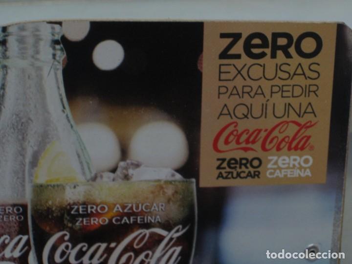 Coleccionismo de Coca-Cola y Pepsi: Expositor Coca Cola zero, zero cafeina - Foto 5 - 150217118