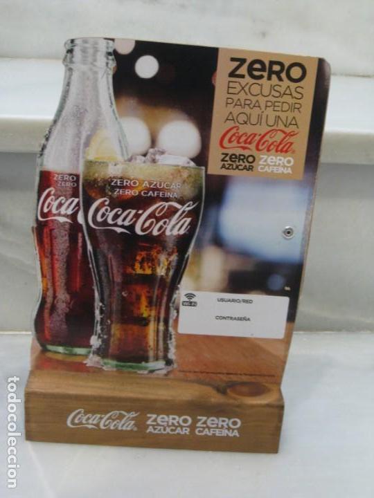 Coleccionismo de Coca-Cola y Pepsi: Expositor Coca Cola zero, zero cafeina - Foto 6 - 150217118