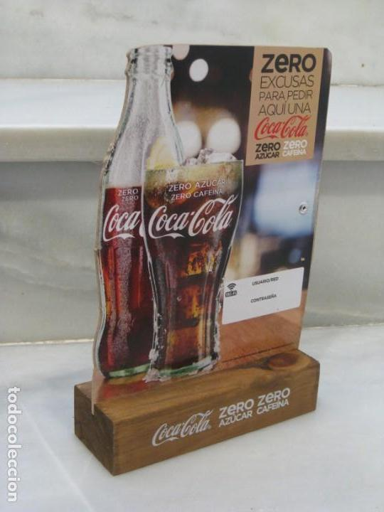Coleccionismo de Coca-Cola y Pepsi: Expositor Coca Cola zero, zero cafeina - Foto 9 - 150217118