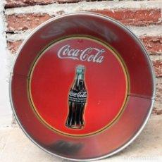 Coleccionismo de Coca-Cola y Pepsi: BOL, CUBITERA O ENSALADERA DE METAL DE COCA COLA.. Lote 151094382