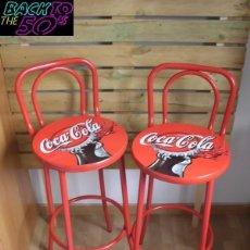 Coleccionismo de Coca-Cola y Pepsi: LOTE 2 TABURETTES COCA COLA. Lote 151429834