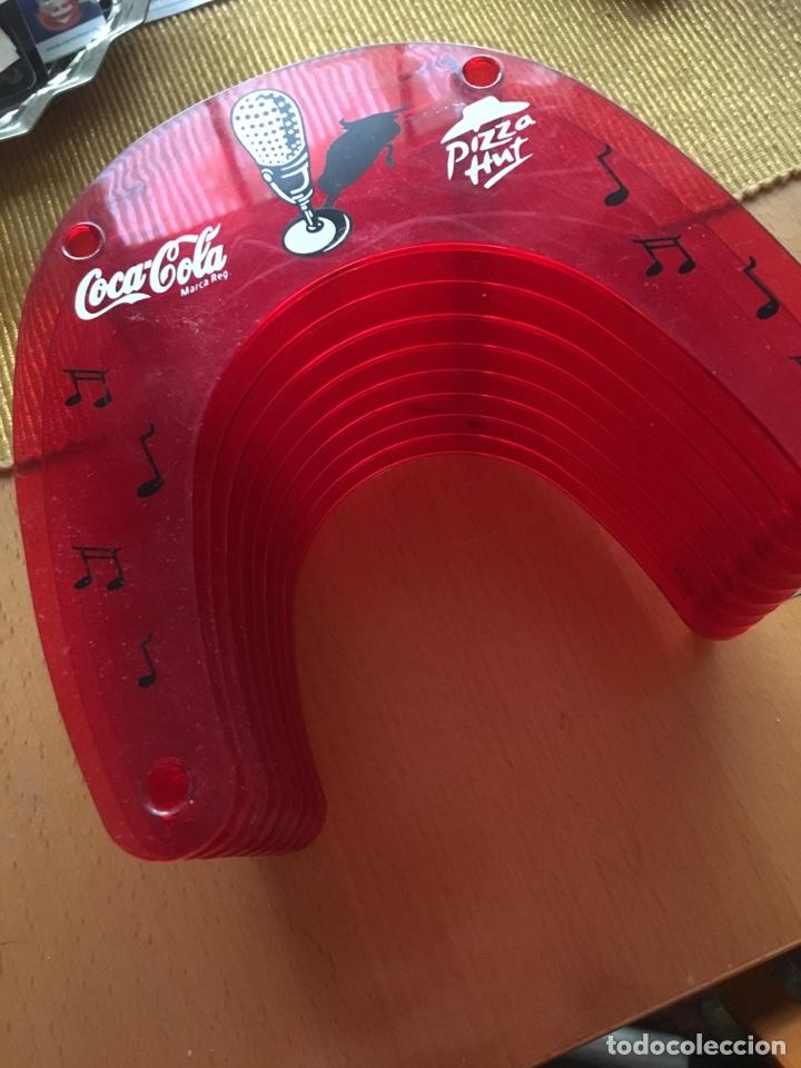 PORTA CDS COCA- COLA /PIZZA HUT (Coleccionismo - Botellas y Bebidas - Coca-Cola y Pepsi)