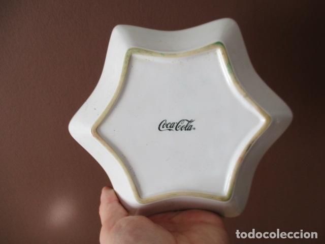 Coleccionismo de Coca-Cola y Pepsi: Cenicero o plato de Coca Cola, color NEGRO - NUEVO - Foto 2 - 152519206