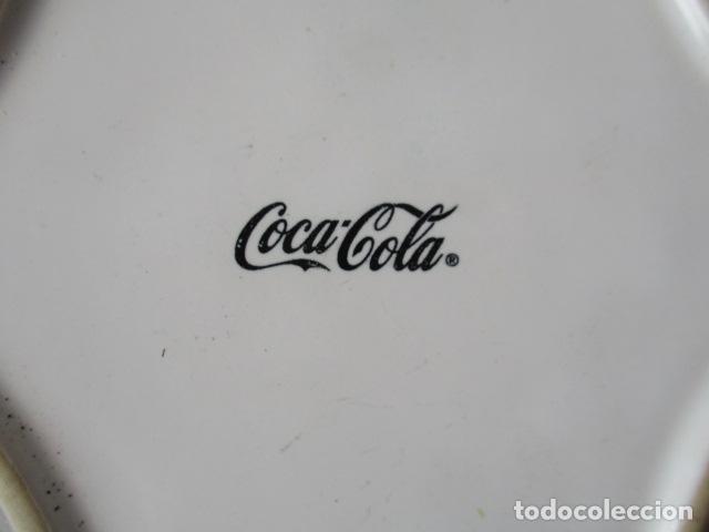 Coleccionismo de Coca-Cola y Pepsi: Cenicero o plato de Coca Cola, color NEGRO - NUEVO - Foto 3 - 152519206