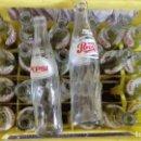 Coleccionismo de Coca-Cola y Pepsi: ANTIGUA CAJA CON 24 BOTELLA DE CERVEZA PEPSI COLA SERIGRAFIA AÑOS 70.VACIO. Lote 152525550