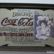 Coleccionismo de Coca-Cola y Pepsi: ESPEJO DE PUBLICIDAD COCA COLA. Lote 152938194
