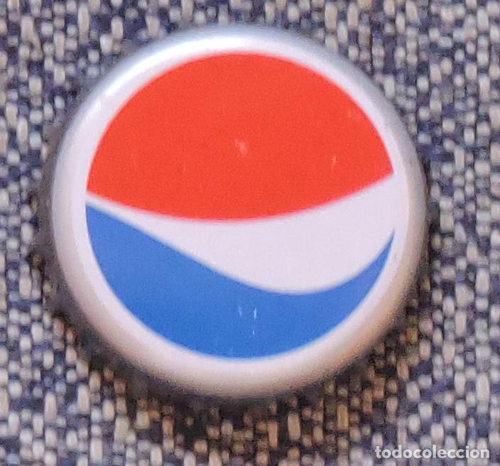 Chapa corona tapón PEPSI España SIN círculo de color