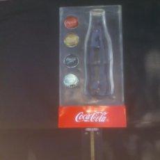 Coleccionismo de Coca-Cola y Pepsi: EXPOSITOR LUMINOSO COCA COLA - COCACOLA PARA BARRA - MOSTRADOR CON ABREBOTELLAS. Lote 153266450