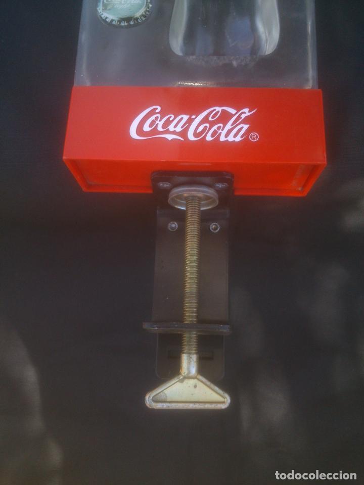 Coleccionismo de Coca-Cola y Pepsi: Expositor Luminoso Coca Cola - Cocacola Para Barra - Mostrador Con Abrebotellas - Foto 3 - 153266450