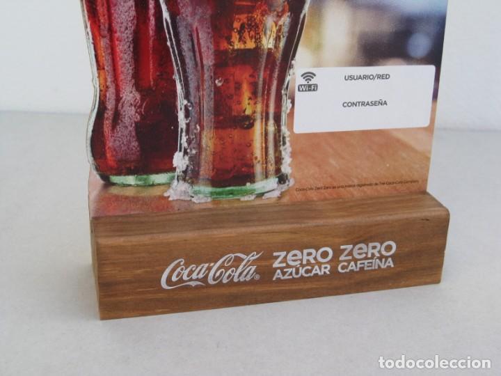 Coleccionismo de Coca-Cola y Pepsi: Expositor Coca Cola zero, zero cafeina - Foto 3 - 153720422