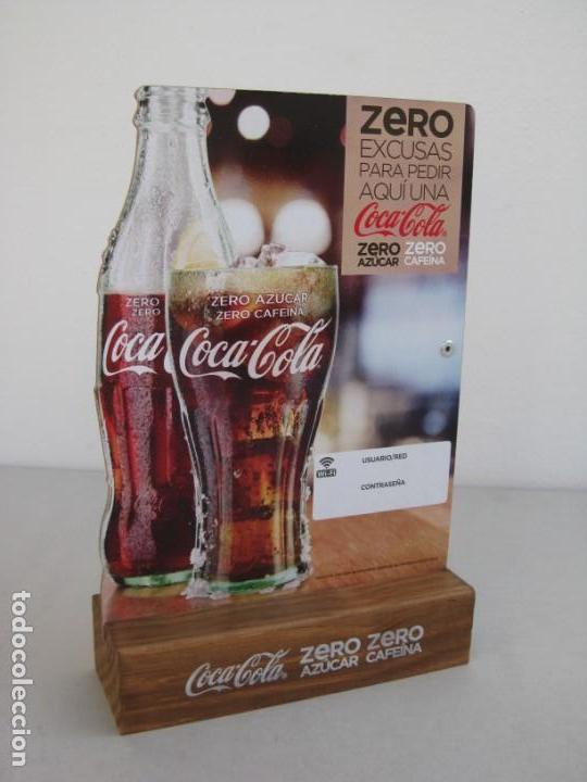 Coleccionismo de Coca-Cola y Pepsi: Expositor Coca Cola zero, zero cafeina - Foto 9 - 153720422