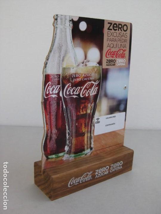 Coleccionismo de Coca-Cola y Pepsi: Expositor Coca Cola zero, zero cafeina - Foto 4 - 153720786
